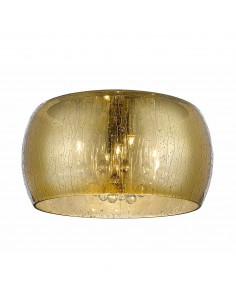 Lampa sufitowa złota Rain 5 punktowa z kryształkami C0076-05L-F4L9 - Zuma Line