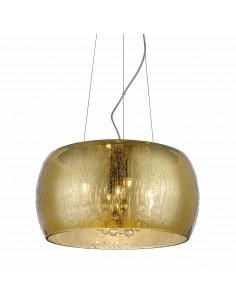 Lampa wisząca złota Rain 5 punktowa P0076-05L-F7L9 - Zuma Line