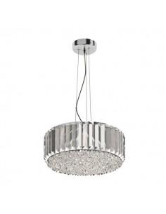 Lampa wisząca Prince 5 punktowa srebrna P0360-05B-F4AC - Zuma Line