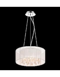 Lampa wisząca Artemida 5 punktowa biała RLD92193-5 - Zuma Line
