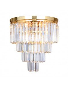 Lampa sufitowa Amedeo 5 punktowa złota FC17106/4+1 -GLD - Zuma Line