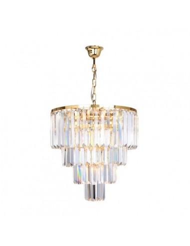 Lampa wisząca złota Amedeo 5 punktowa 17106/4+1-GLD - Zuma Line