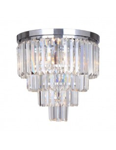 Lampa sufitowa Amedeo chrom 5 punktowa FC17106/4+1-CHR - Zuma Line