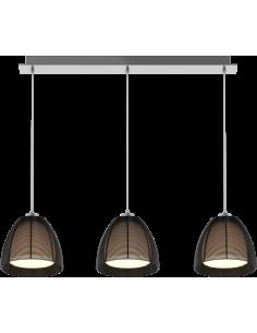 Lampa wisząca Pico 3 punktowa czarna MD9023-3B - Zuma Line