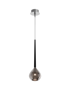 Lampa wisząca Libra srebrna MD2128-1S - Zuma Line