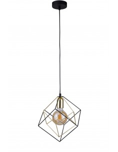 Lampa wisząca Alambre 1 punktowa złota 2777 - TK Lighting