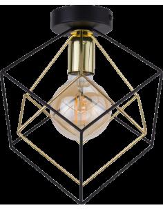 Kinkiet Alambre 1 punktowa złota 2702 - TK Lighting