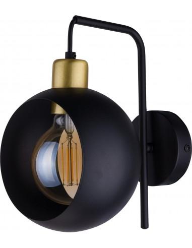 Kinkiet Cyklop Black 1 punktowy czarny 2750 - TK Lighting