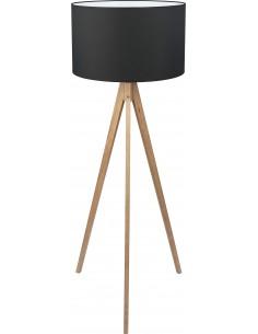 Lampa podłogowa Treviso czarna 1 punktowa 5039 - TK Lighting