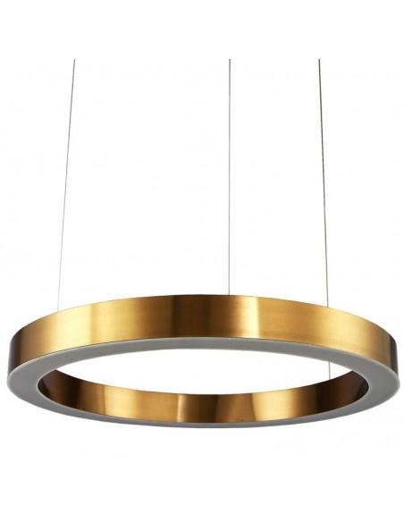 Lampa wisząca LED Circle 80 mosiądz ST 8848-80 ring - Step into design