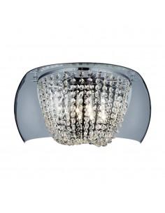 Kinkiet kryształowy 4 punktowy Lexus transparentny parete claro - Orlicki Design