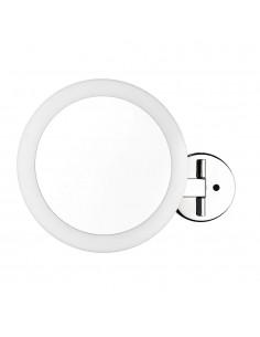 Kinkiet łazienkowy LED lusterko Belli IP44 chrom - Orlicki Design