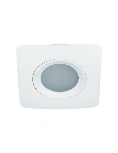 Oprawa podtynkowa łazienkowa Bello IP44 bianco oczko białe kwadratowe - Orlicki Design