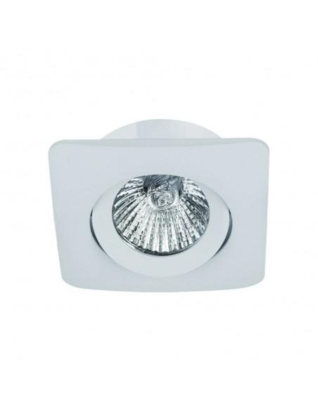 Oprawa podtynkowa regulowana Bello bianco białe oczko kwadratowe - Orlicki Design