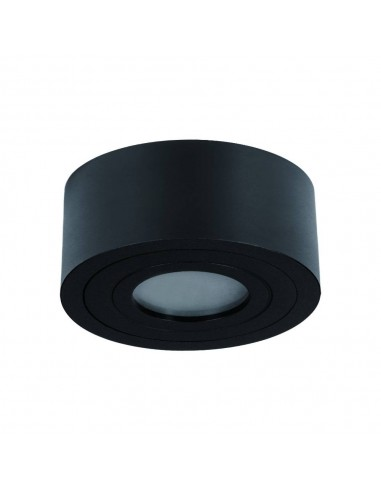 Downlight tuba łazienkowa IP44 czarna Rullo nero mini 4cm - Orlicki Design