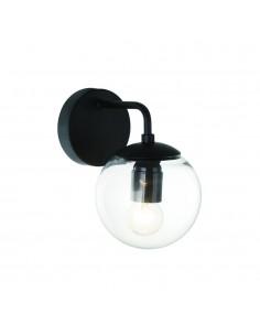 Kinkiet 1 punktowy szklany klosz Bao parette clear - Orlicki Design