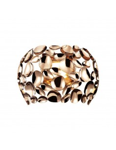 Kinkiet złoty Carera parete gold metalowy designerski - Orlicki Design