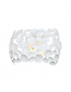 Kinkiet biały Carera parete bianco designerski metalowy - Orlicki Design