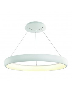 Lampa wisząca LED Rotto biała bianco S 4000K zwis ring - Orlicki Design