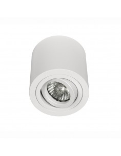 Oprawa natynkowa regulowana tuba Rullo bianco 9,5 cm biała 1 punktowa - Orlicki Design