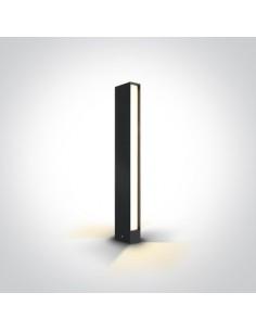 Lampa stojąca ogrodowa LED Roseo IP54 2 punktowa 8W antracyt 67460B/AN/W - OneLight