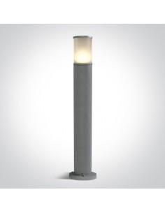 Lampa stojąca ogrodowa Lauria 1 punktowa 75cm IP54 szara 67102/G - OneLight