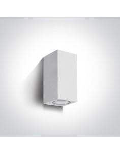 Kinkiet elewacyjny zewnętrzny Arco II 2 punktowy IP65 biały NL67426AW - Zeni
