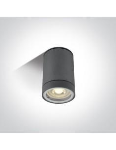 Oprawa sufitowa tuba Lido IP54 antracytowa 1 punktowa 67130C/AN - OneLight