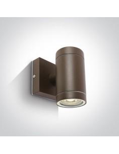 Kinkiet elewacyjny Lido brązowy IP54 1 punktowy 67130E/BR - OneLight