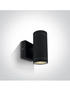 Kinkiet elewacyjny IP54 Lido II czarny 2 punktowy 67130/B - OneLight