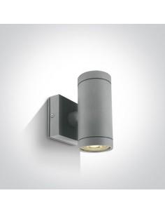 Kinkiet elewacyjny Lido II szary 2 punktowy IP54 67130/G - OneLight