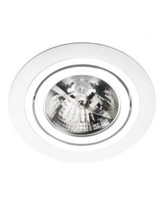 Oprawa  podtynkowa oczko ALCAZAR 140.SC ES111 wpust okrągły srebro i chrom - Lumifall