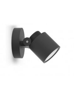 Kinkiet elewacyjny regulowany LED Explorer 5W antracyt IP54 - Lutec