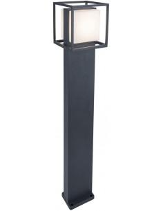 Lampa ogrodowa LED Cruz IP54 antracyt 13W stojąca - Lutec