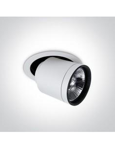 Oprawa podtynkowa regulowana Rodos biała 11110H/W - OneLight