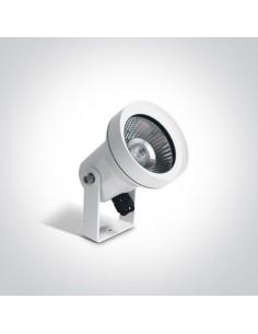 Lampa ogrodowa spot biały IP65 Katalima 67196BG/W - OneLight
