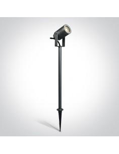Lampa ogrodowa wbijana na słupku Martino 2 IP65 regulowana antracytowa 67198AG/AN - OneLight