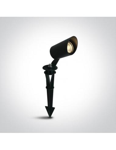 Lampa ogrodowa wbijana czarna regulowana Rakita IP65 67456/B/W - OneLight