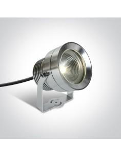 Lampa ogrodowa LED Roisan spot 20W IP65  aluminium 7047/AL/W - OneLight