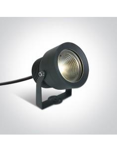 Lampa ogrodowa spot IP65 LED Roisan 20W antracytowy 7047/AN/W - OneLight