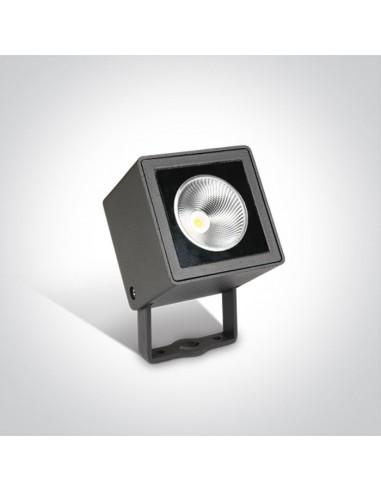 Lampa ogrodowa wbijana LED Borgone 7W antracytowa IP65 7052/AN/W - OneLight