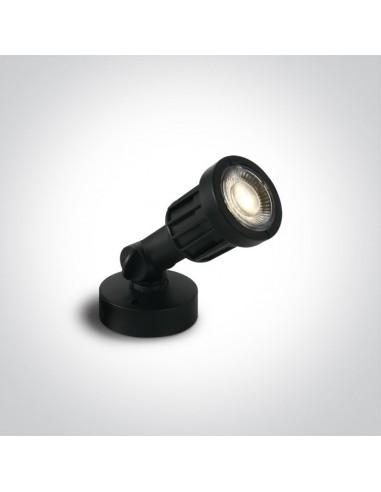 Lampa ogrodowa LED Valdo 5W regulowana IP65 czarna 7070/W - OneLight