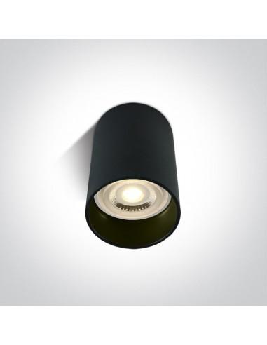 Tuba natynkowa czarna Likowrisi 10cm GU10 12105EB OneLight