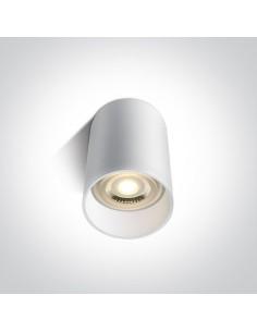 Tuba natynkowa 10cm Likowrisi biała GU10 12105E/W - OneLight