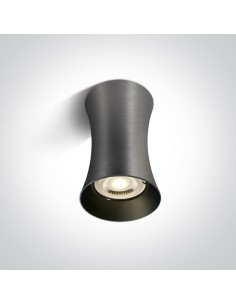Tuba natynkowa 1 punktowa Mawromati szara GU10 12105F/MG - OneLight