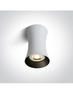 Oprawa natynkowa 1 punktowa Mawromati biała tuba GU10 12105F/W - OneLight