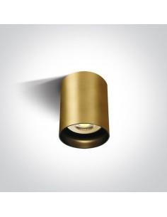 Tuba natynkowa GU10 Muzaki matowy mosiądz 12105N/BBS - OneLight