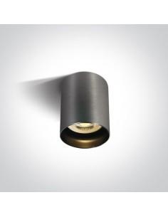 Tuba natynkowa szara Muzaki GU10 12105N/MG - OneLight