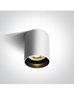 Tuba natynkowa biała GU10 Muzaki 12105N/W - OneLight