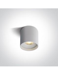 Tuba biała 1 punktowa LED 8W Karas 7cm 12108C/W/W - OneLight